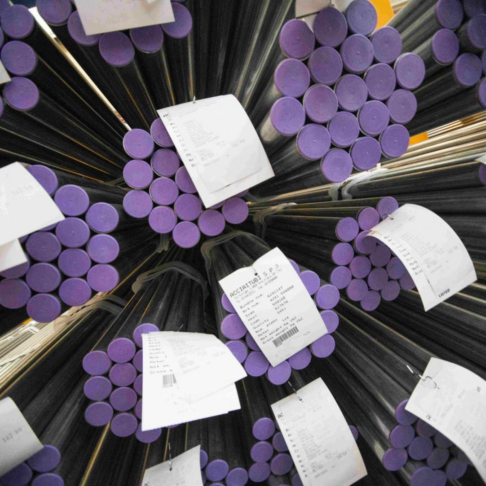 La produzione dei tubi di acciaio