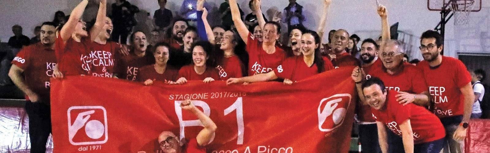 Promozione in Serie B2 di volley per la Acciaitubi Lecco Picco