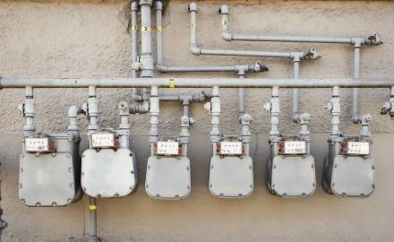 Impianto con tubi saldati gas e acqua