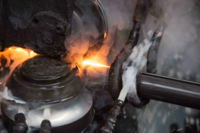 Lavorazione del tubo in acciaio